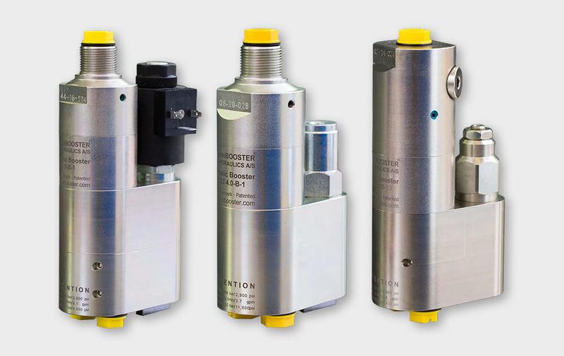 Gruppo HCxx - Moltiplicatori olio-olio con valvole di controllo miniBOOSTER, moltiplicatori di pressione - Camar S.p.A.