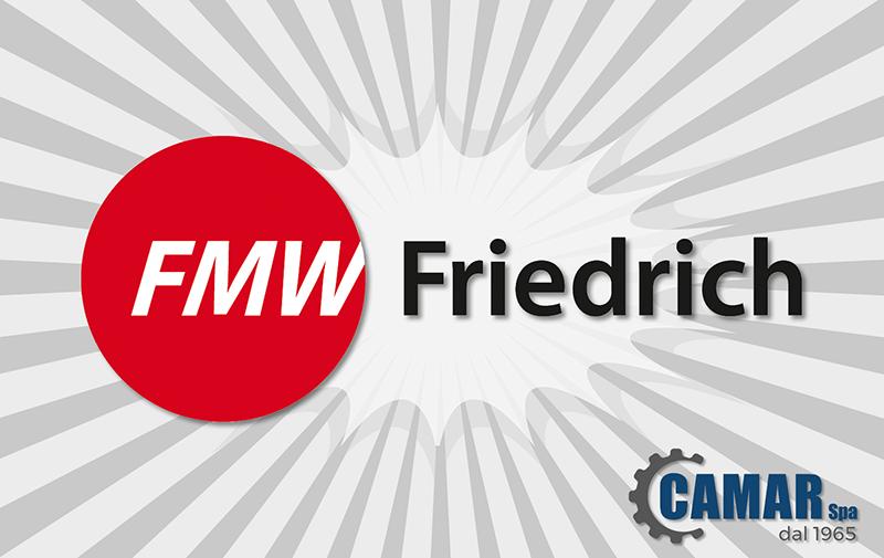 Ribaditrici, rullatrici, imboccolatrici nuova rappresentanza FMW Friedrich