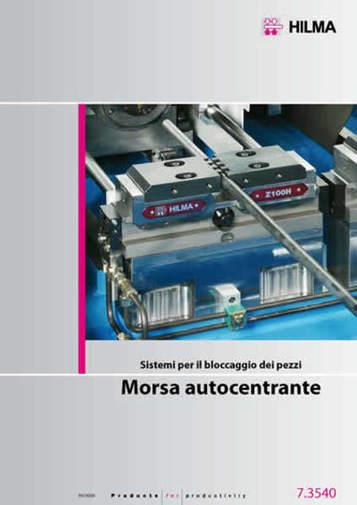 Gruppo 07 - Morse autocentranti HILMA, sistemi di bloccaggio - Camar S.p.A.