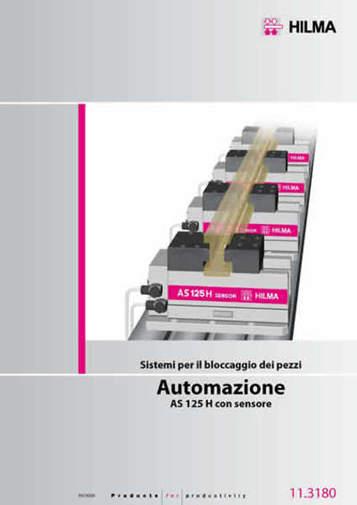 Gruppo 11 - Morse per automazione HILMA - Camar S.p.A.