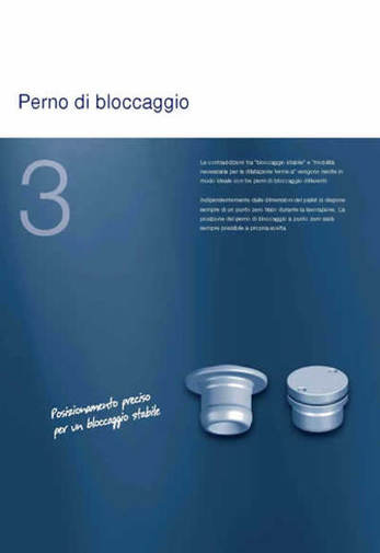 Gruppo Cap. 3 - SPEEDY CLASSIC 2 - Perni di bloccaggio - Camar S.p.A.