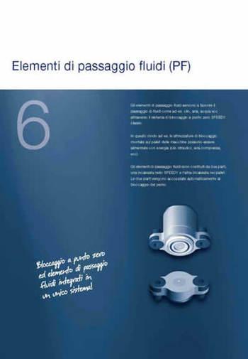 Gruppo Cap. 6 - SPEEDY CLASSIC 2 - Passaggi fluidi - Camar S.p.A.
