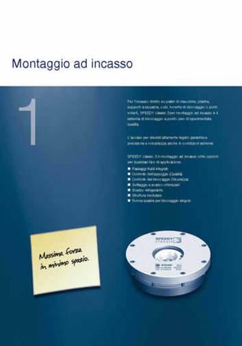 Gruppo  - SPEEDY CLASSIC 3 - Montaggio ad incasso - Camar S.p.A.