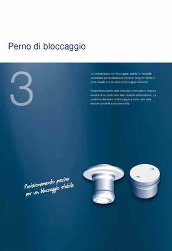 Gruppo  - SPEEDY CLASSIC 3 - Perni di bloccaggio - Camar S.p.A.