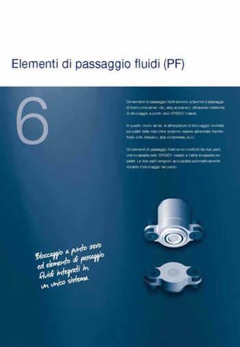 Gruppo  - SPEEDY CLASSIC 3 - Passaggi fluidi - Camar S.p.A.