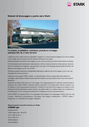 Gruppo  - SPEEDY CLASSIC 3 - Conclusione - Camar S.p.A.